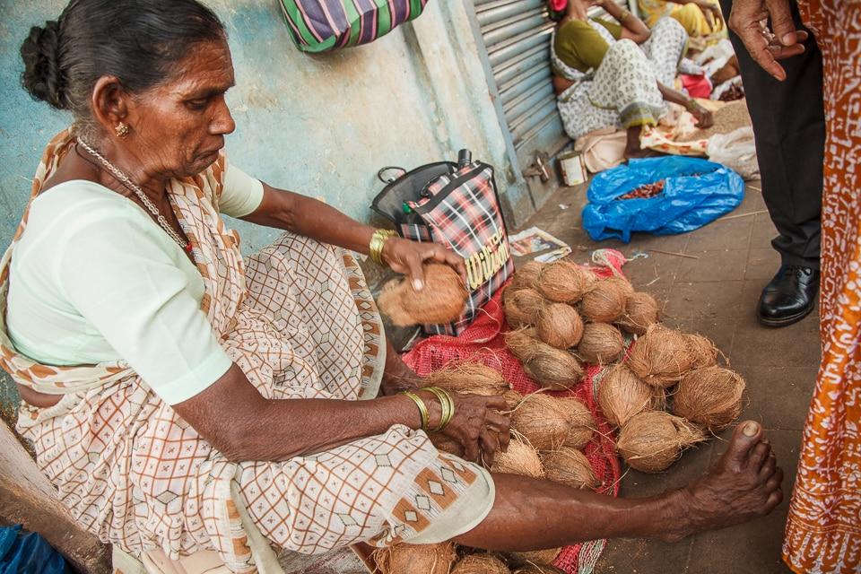 mercado goa india