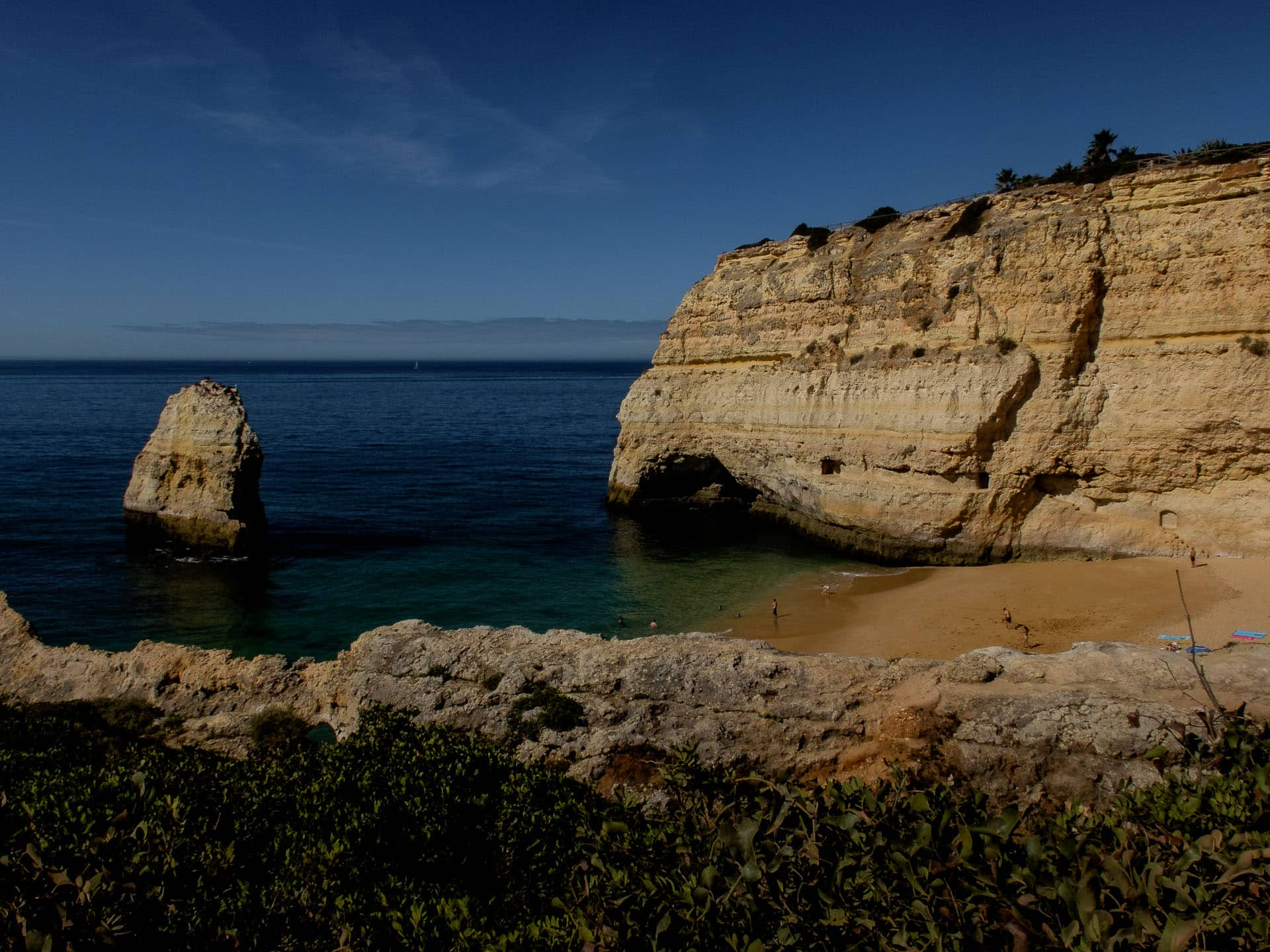 praia carvalho algarve