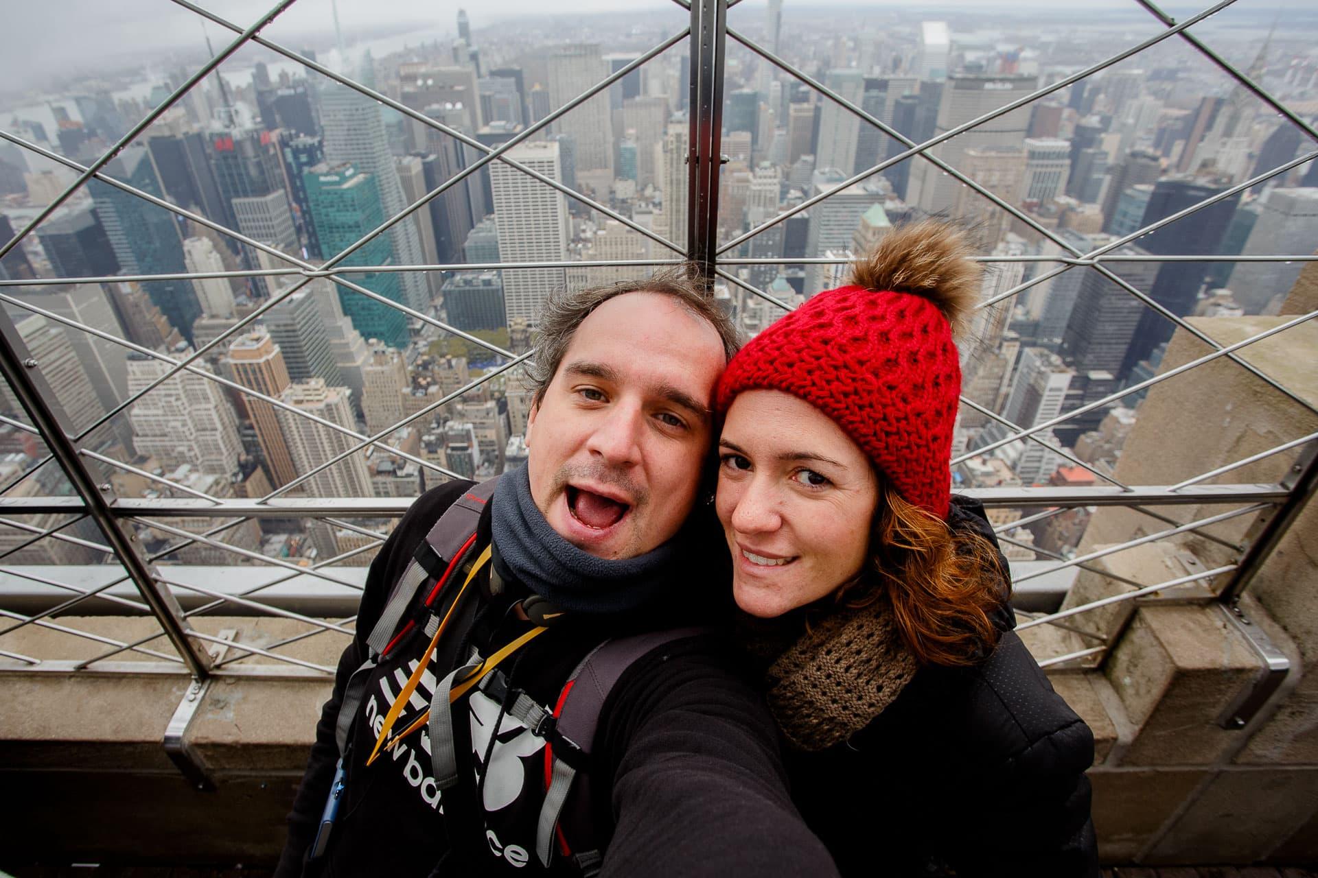 selfie empire state