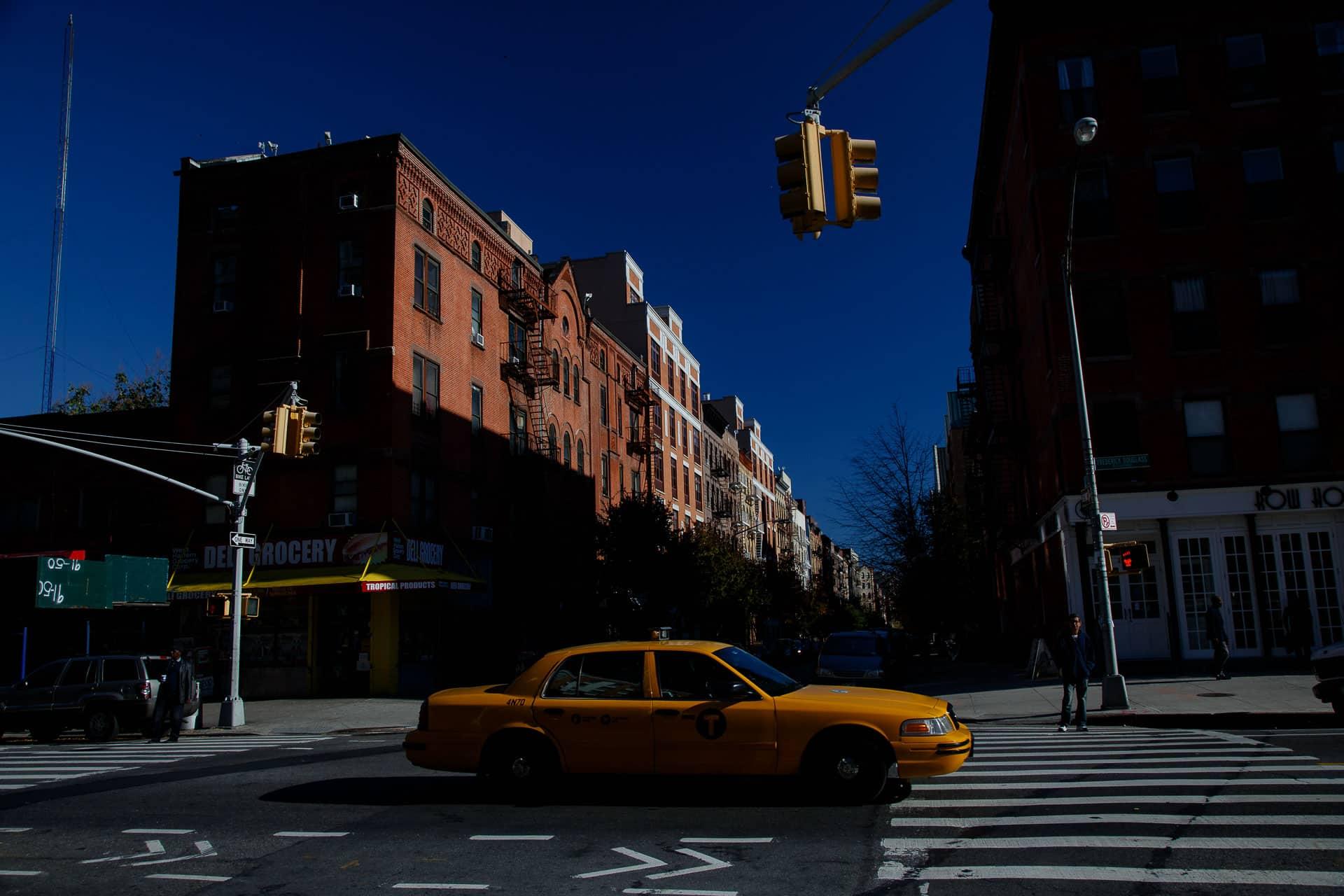 calles de nueva york taxi
