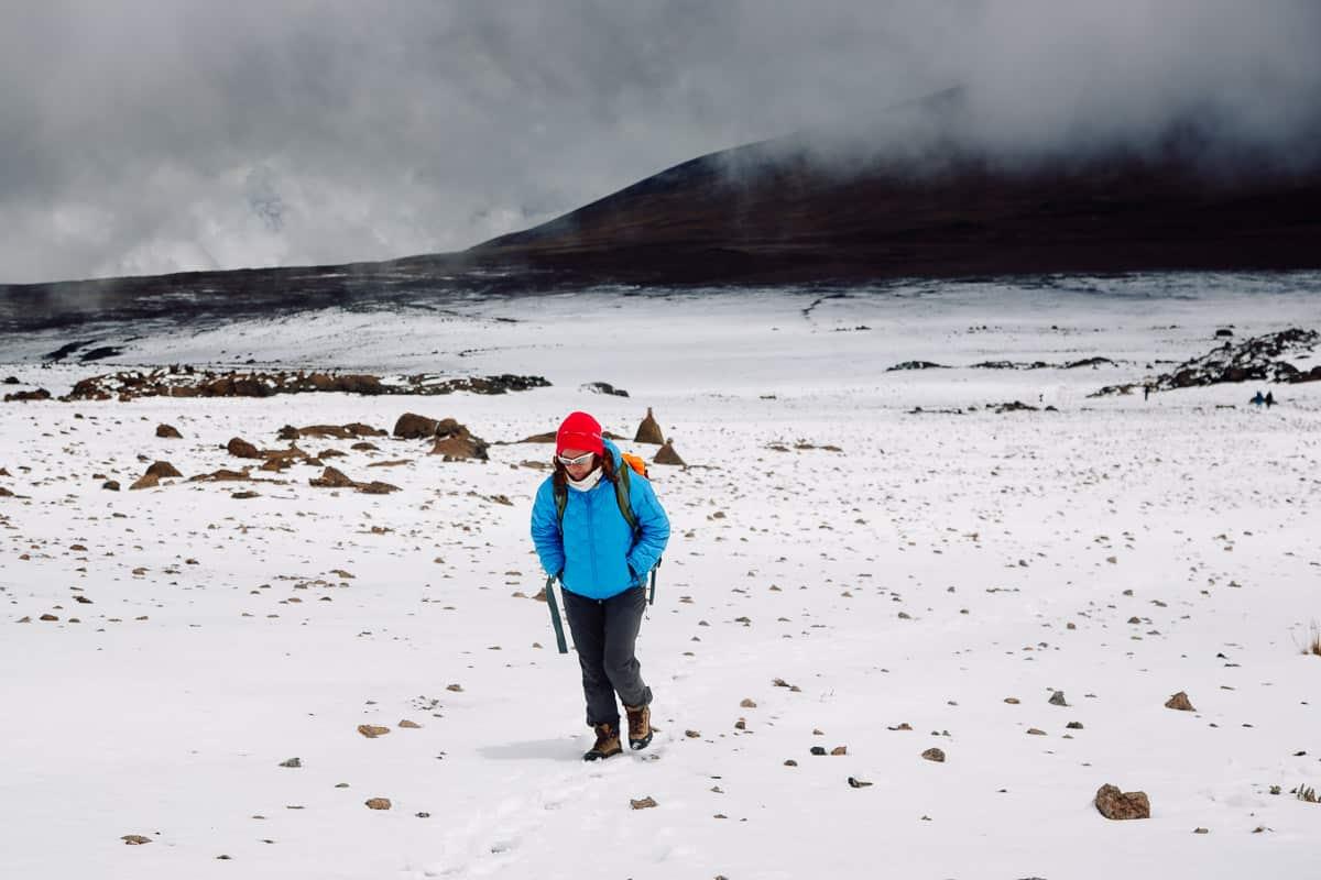 kilimanjaro ruto rongai kibo hut