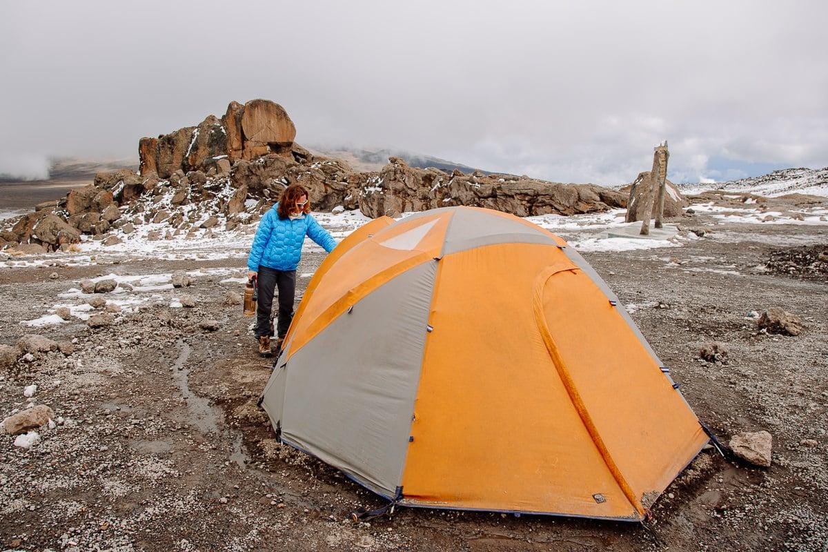 kilimanjaro ruta rongai kibo hut