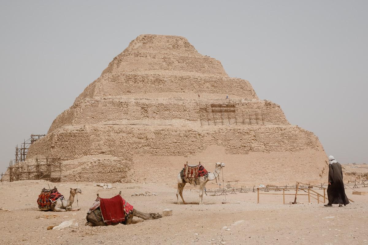 piramide escalonada de saqqara